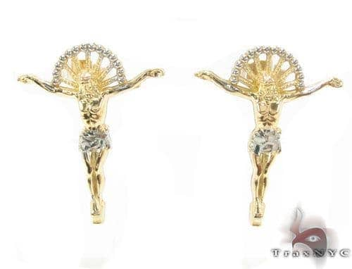 10K Gold Earrigns 34171 Metal