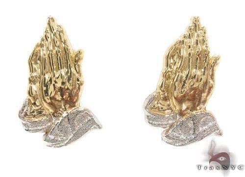 10K Gold Earrings 34177 Metal