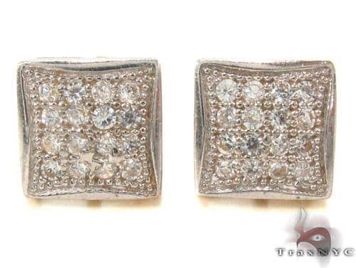 CZ 10K Gold Earrings 33245 Metal