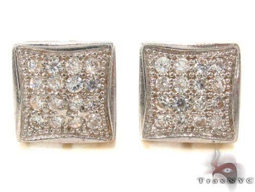 CZ 10K Gold Earrings 33245 Metal