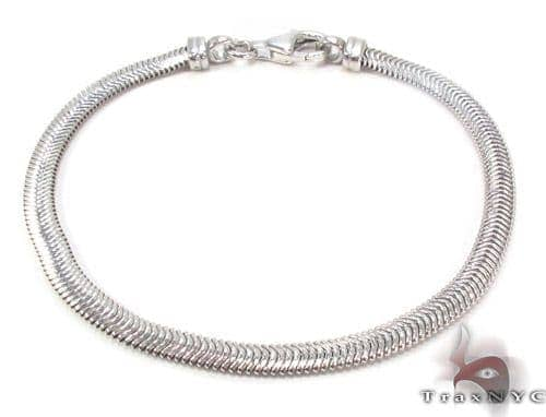 Silver Bracelet 34470 Silver & Stainless Steel