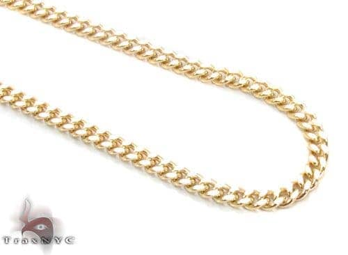 14K Gold Cuban Chain 20 Inches, 2mm, 6 Grams Gold