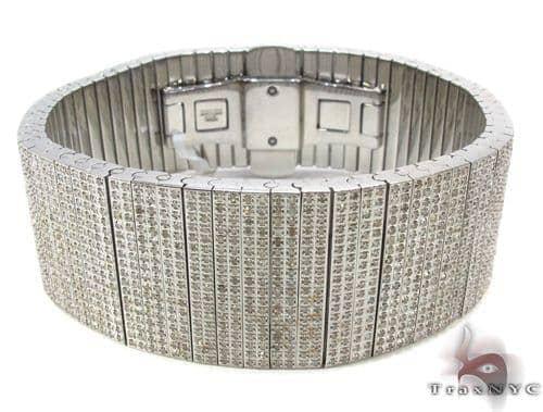 Prong Stainless Steel Diamond Bracelet Stainless Steel