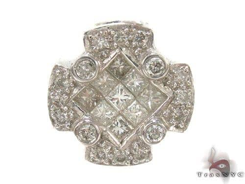 Invisible Diamond Pendant 34664 Stone