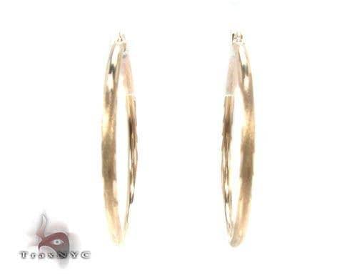 10K Gold Hoop Earrings 34727 Metal