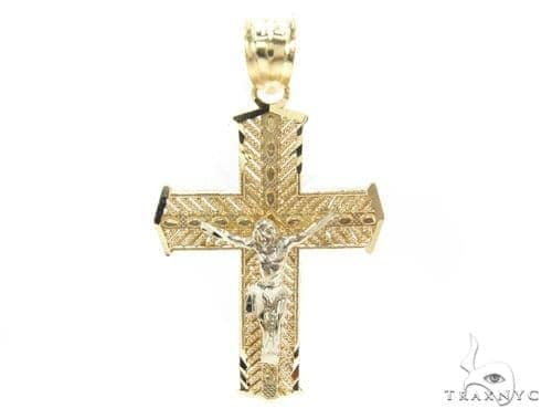 10k Gold Cross 34855 Gold