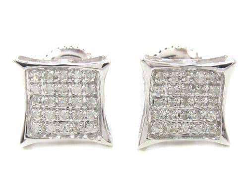 Prong Diamond Earrings 34901 Style