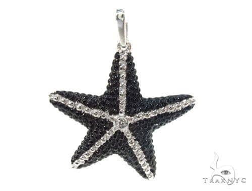Bezel Diamond Starfish Pendant 34999 Metal