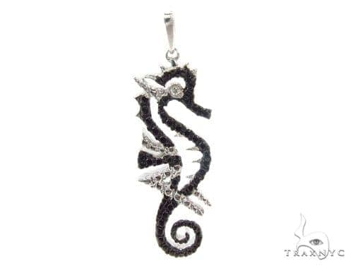 Bezel Diamond Silver Pendant 35012 Metal