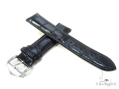 Techno Master Black Leather Band 23mm Watch Accessories