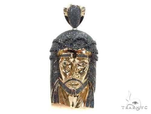 Prong Diamond Jesus Pendant 35194 Style
