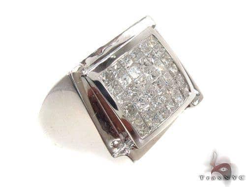 Invisible Diamond Ring 35208 Stone
