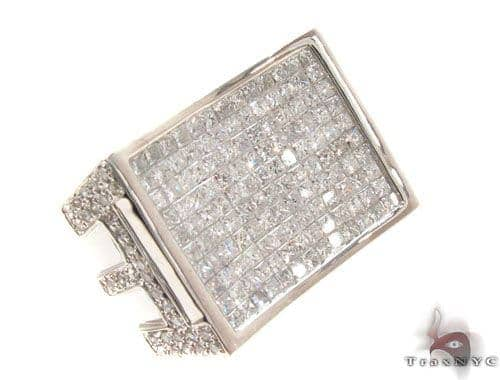Invisible Diamond Ring 35216 Stone