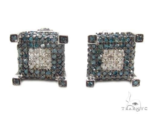 Prong Diamond Earrings 35301 Stone