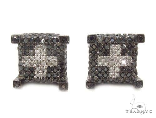 Prong Diamond Earrings 35311 Stone
