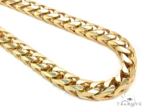 14K Gold Franco Chain 36 Inches 6mm 203.5 Grams Gold