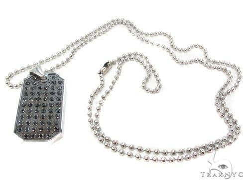 Stainless Steel Dog Tag with 30 Inches 2.5mm 26.2 Gram n Metal