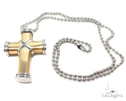 Stainless Steel Cross Chain 24 Inches 3mm 35.2 Grams Stainless Steel