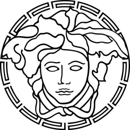 Custom Jewerly- Medusa Head CZ Silver Pendant 32329 Metal