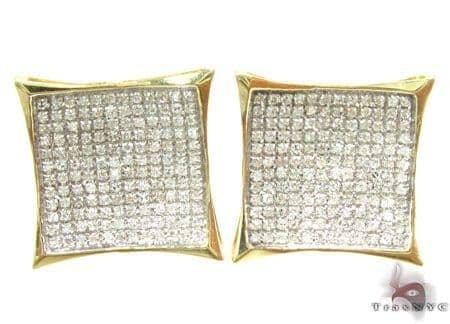 Micropave Noble Earrings Stone