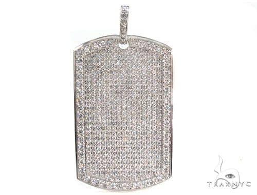 14k gold fully ice diamond dog tag pendant mens diamond dog tag 14k gold fully ice diamond dog tag pendant mozeypictures Images
