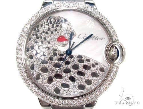 Pave Diamond Cartier Watch-546744RX Cartier