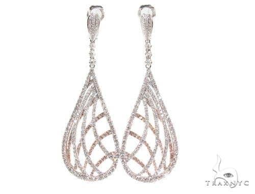 Prong Diamond Chandelier Earrings 36099 Style