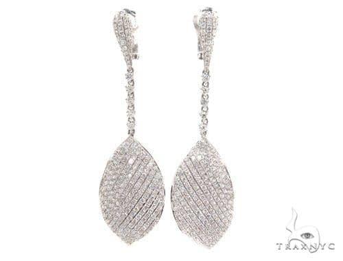 Bay leaf Diamond Chandelier Earrings 36100 Style