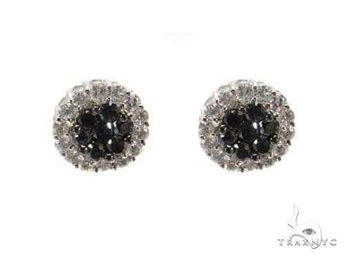 Black Diamond Bundle Earrings Stone