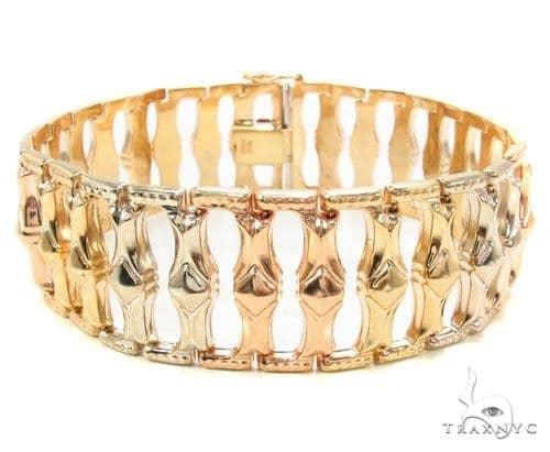 14k Gold Bracelet 36397 Gold