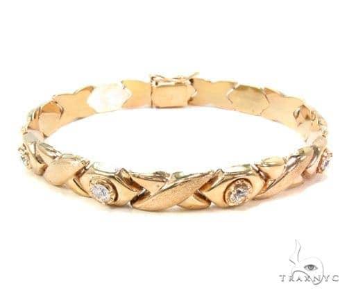 14k Gold Bracelet 36404 Gold