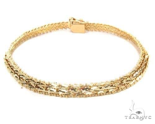 14k Gold Bracelet 36411 Gold