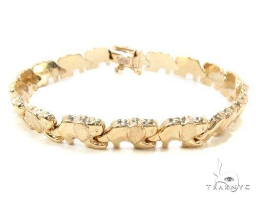 14k Gold Bracelet 36413 Gold