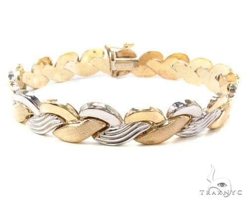 10k Gold Bracelet 36427 Gold