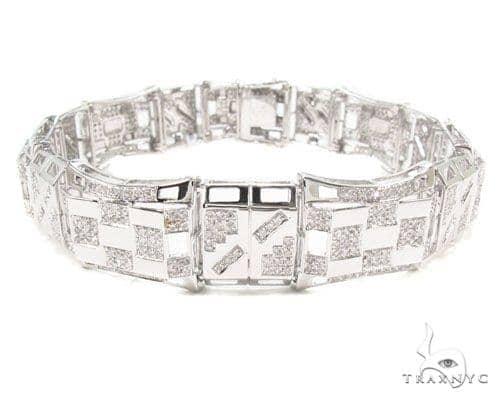 Prong Diamond Bracelet 36672 Diamond