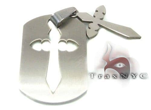 Cross Tag Metal