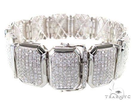 Iced Cushion Bracelet Diamond