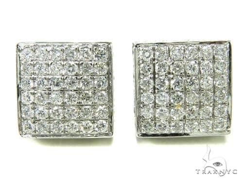 Prong Diamond Earrings 36944 Stone