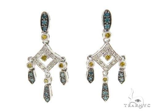 Candlestick Diamond Chandelier Earrings 36962 Style