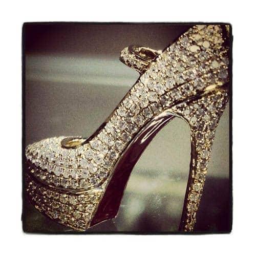 Diamond Stiletto Pendant 36473 Stone