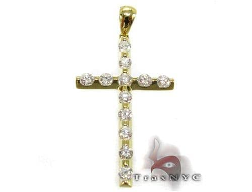 YG Unique Cross Diamond