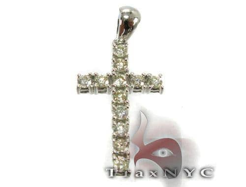 12 Stone Cross Diamond