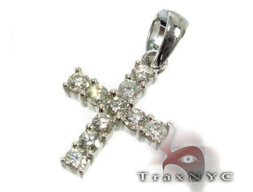 Mini Face Cross Diamond