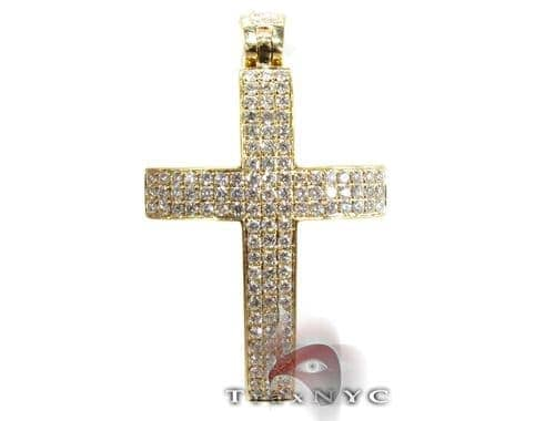 Yellow Thunder Cross Diamond