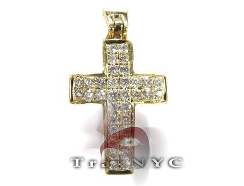 Yellow OG Cross Diamond