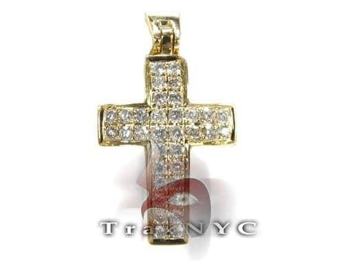 Yellow OG Cross Diamond