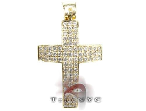 Yellow Timeless Cross Diamond