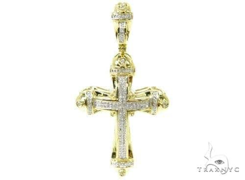 Prong Diamond Cross 37122 Diamond