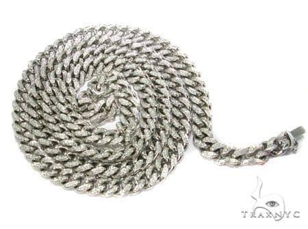 Diamond Miami Link Chain 10mm, 248.68 Grams Diamond