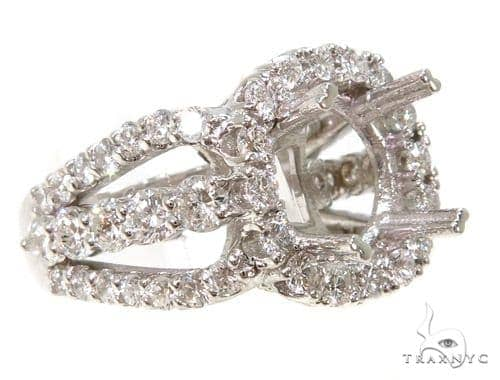 Prong Diamond Semi Mount Ring 37047 Engagement